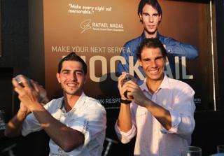 Rafael Nadal Bacardi Shoot